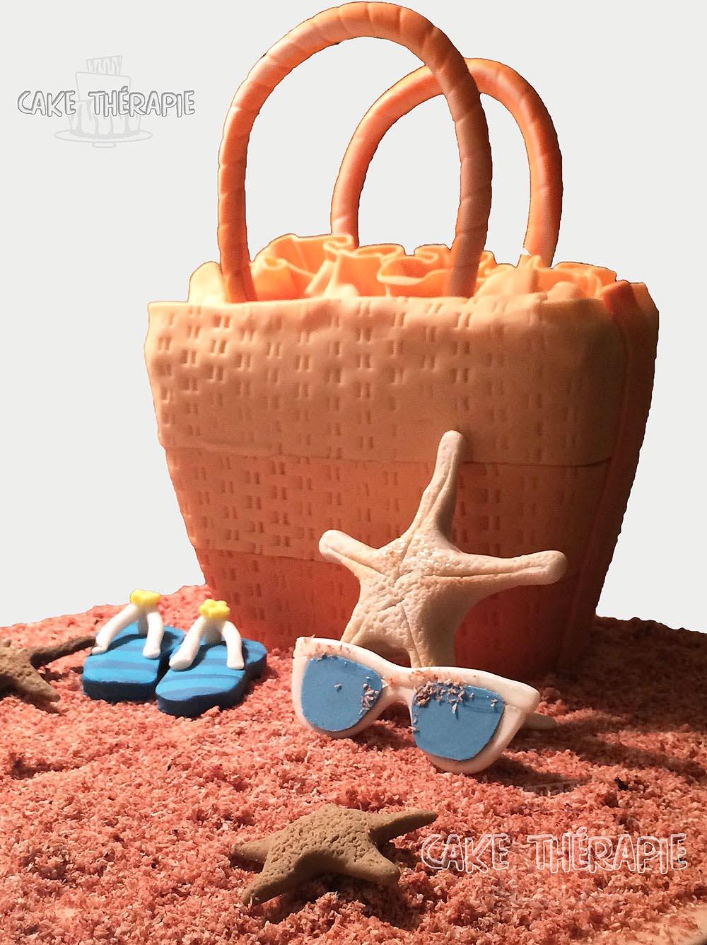 Beach Bag Cake.