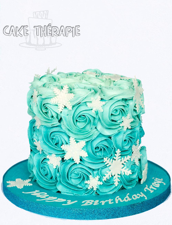 Buttercream Rossette Cake