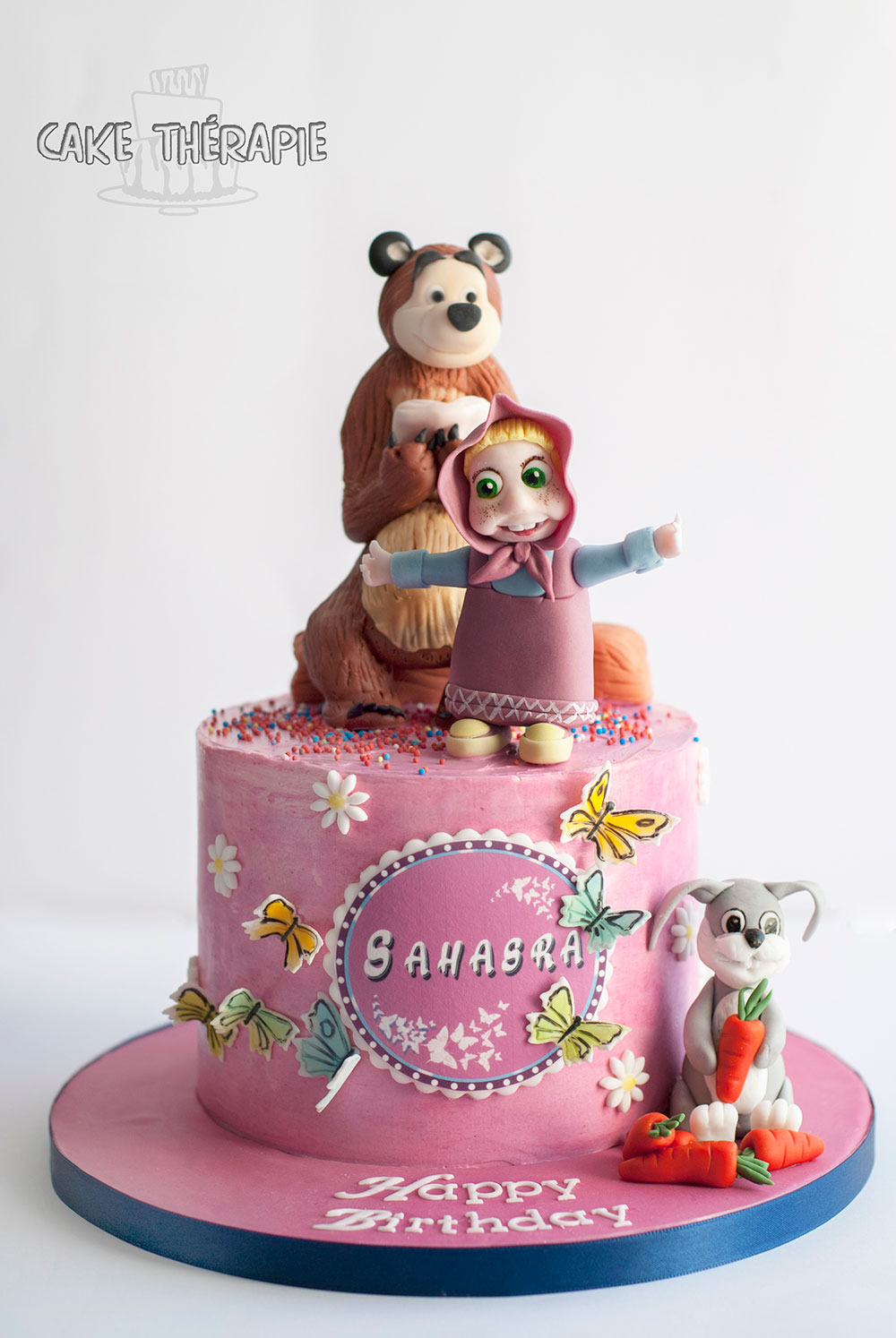 Masha The Bear Cake