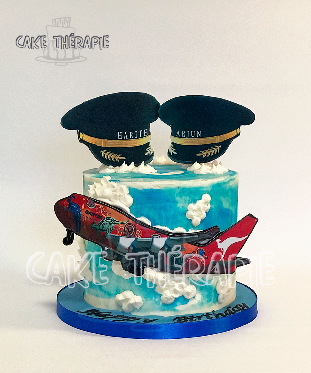 Airplane Themed Cake.